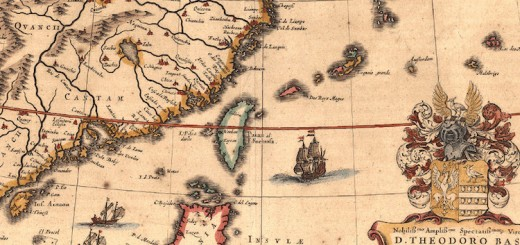 1635_Map_of_Formosa_(Taiwan)_and_Surrounding_Countries_by_Dutch