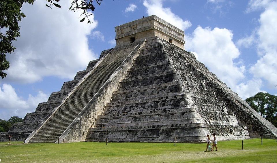 位於墨西哥 Chichen Itza 的馬雅金字塔。(Credit: pixabay / CC0)